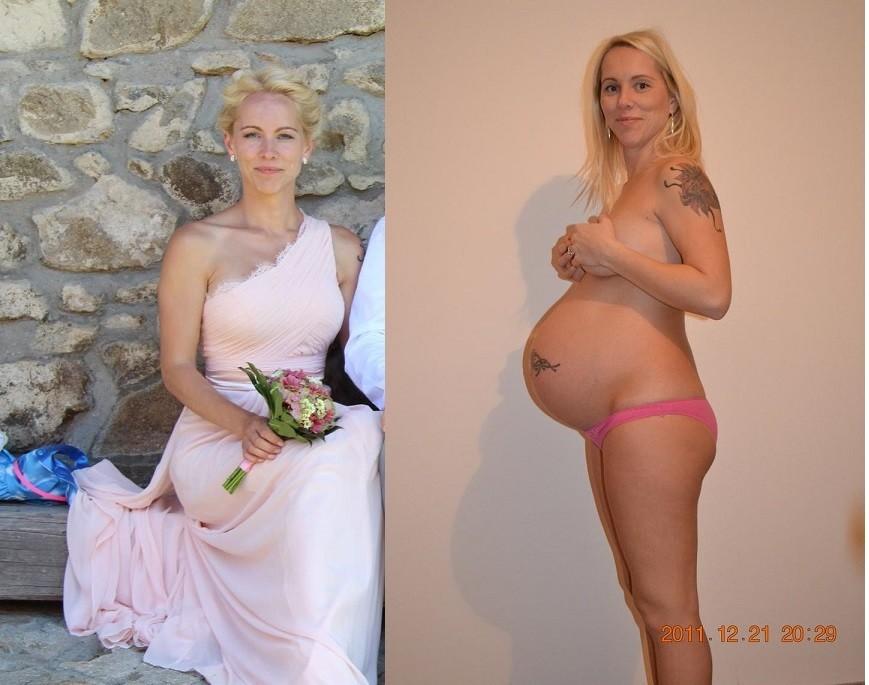 Голые беременные женщины - компиляция 9