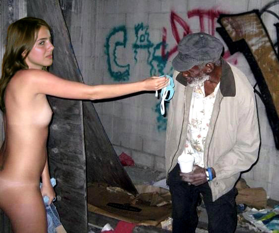 Young homeless girls nude wife coco fucking