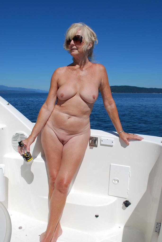 Beach naked gilf, princess lissa eat pussy