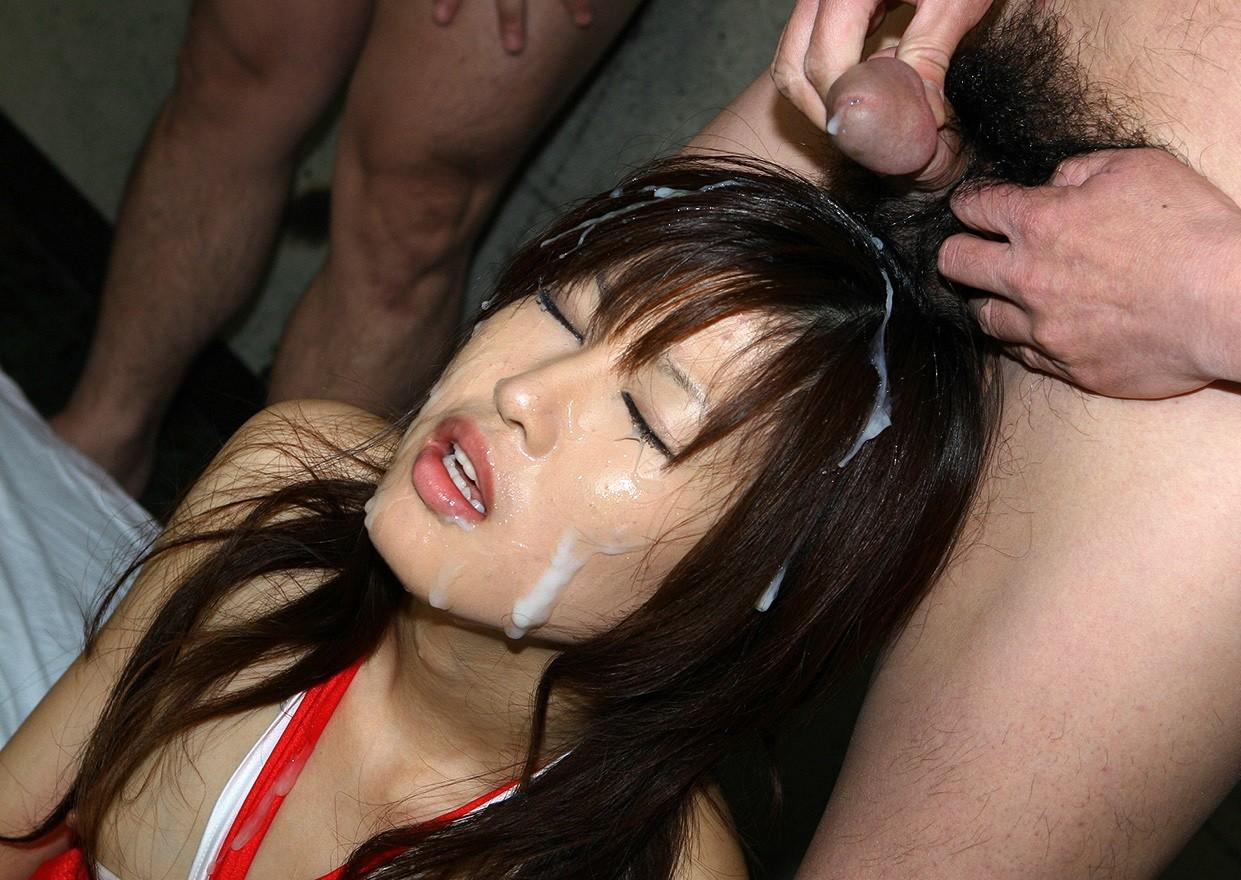 азиатка в сперме готовы