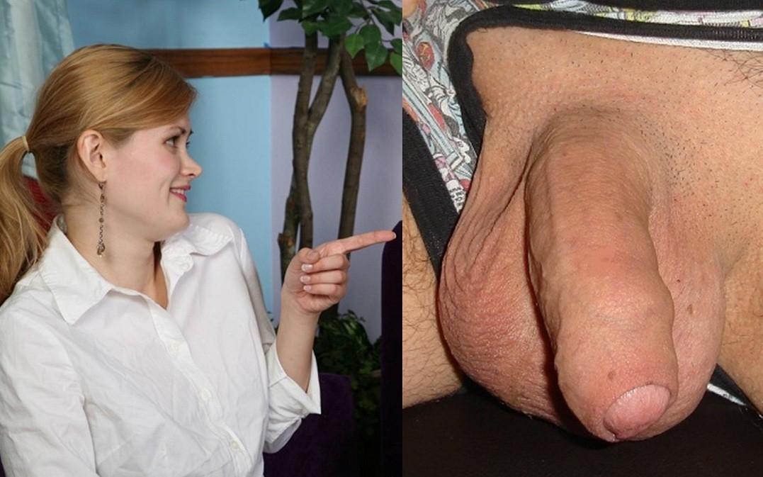 Реакция женщин на мужские гениталии - компиляция 6