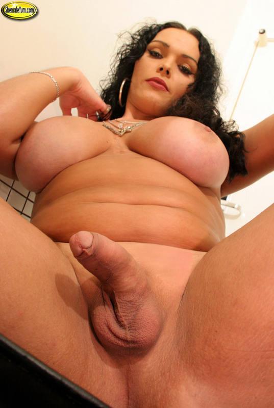 Nude chubby tranny — photo 1