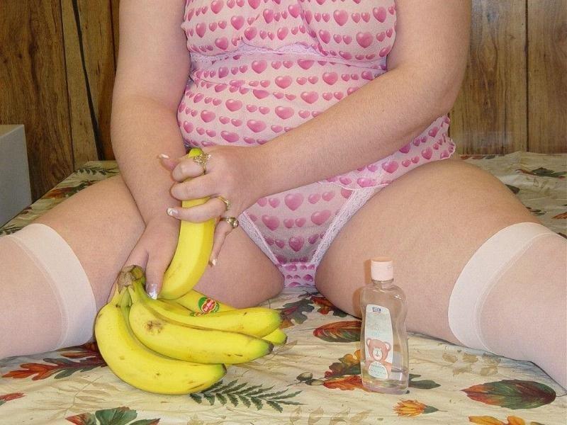 Жирная баба на банановой диете