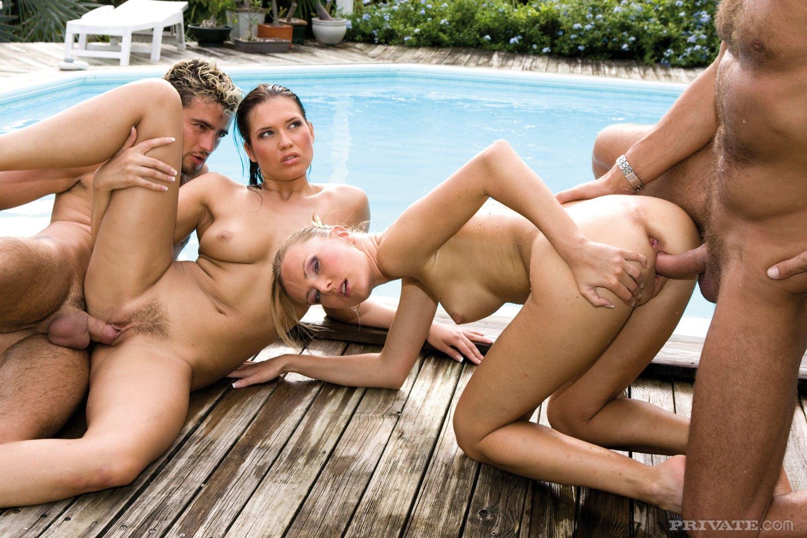 решить дикий хардкор анал порно возле бассейна ещё несколько