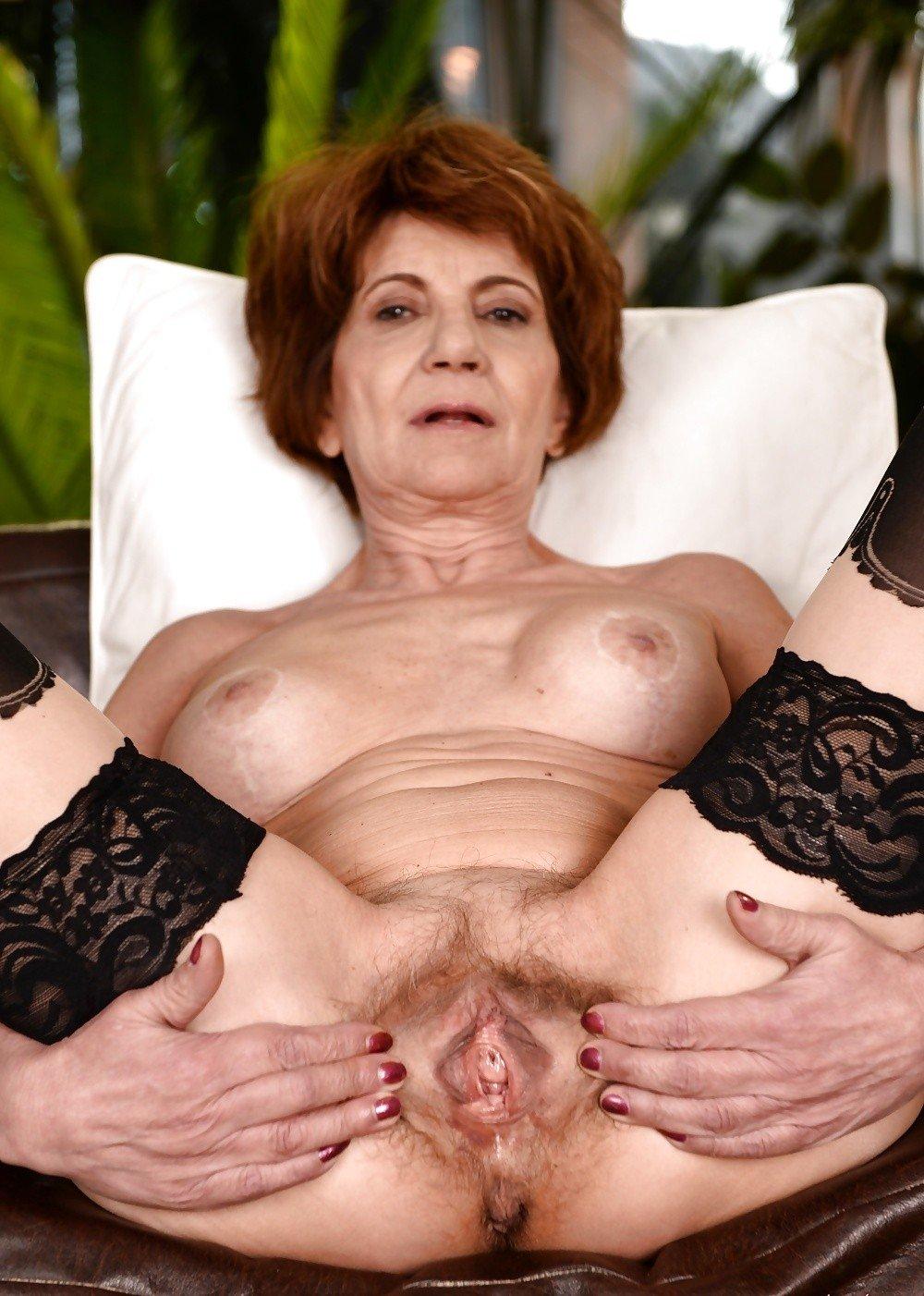Older Women Spreading Pussy
