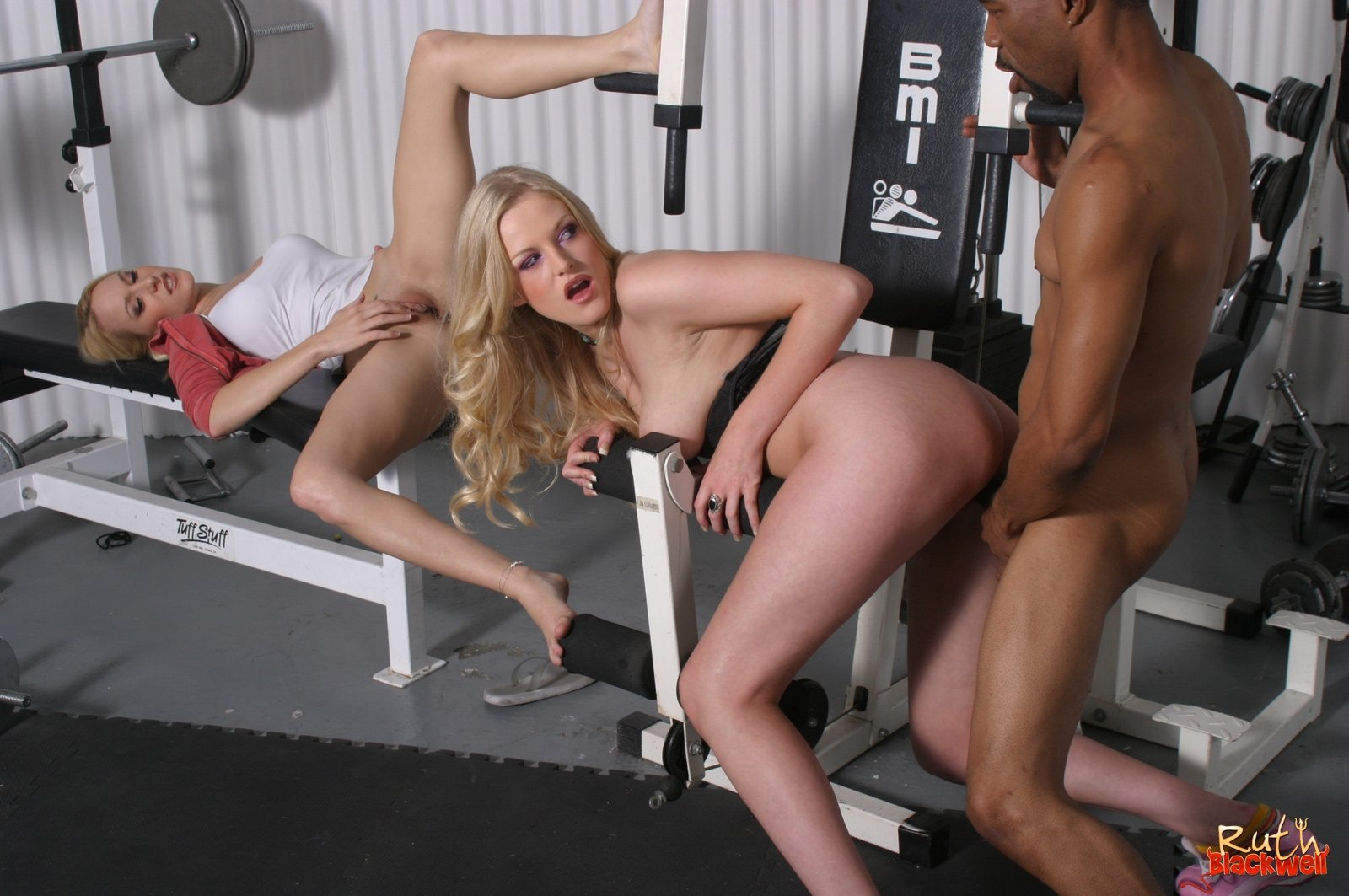 Petite babes first time fuck with fitness instructor