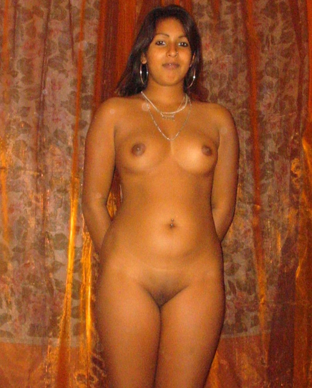 Mostly naked indian married women