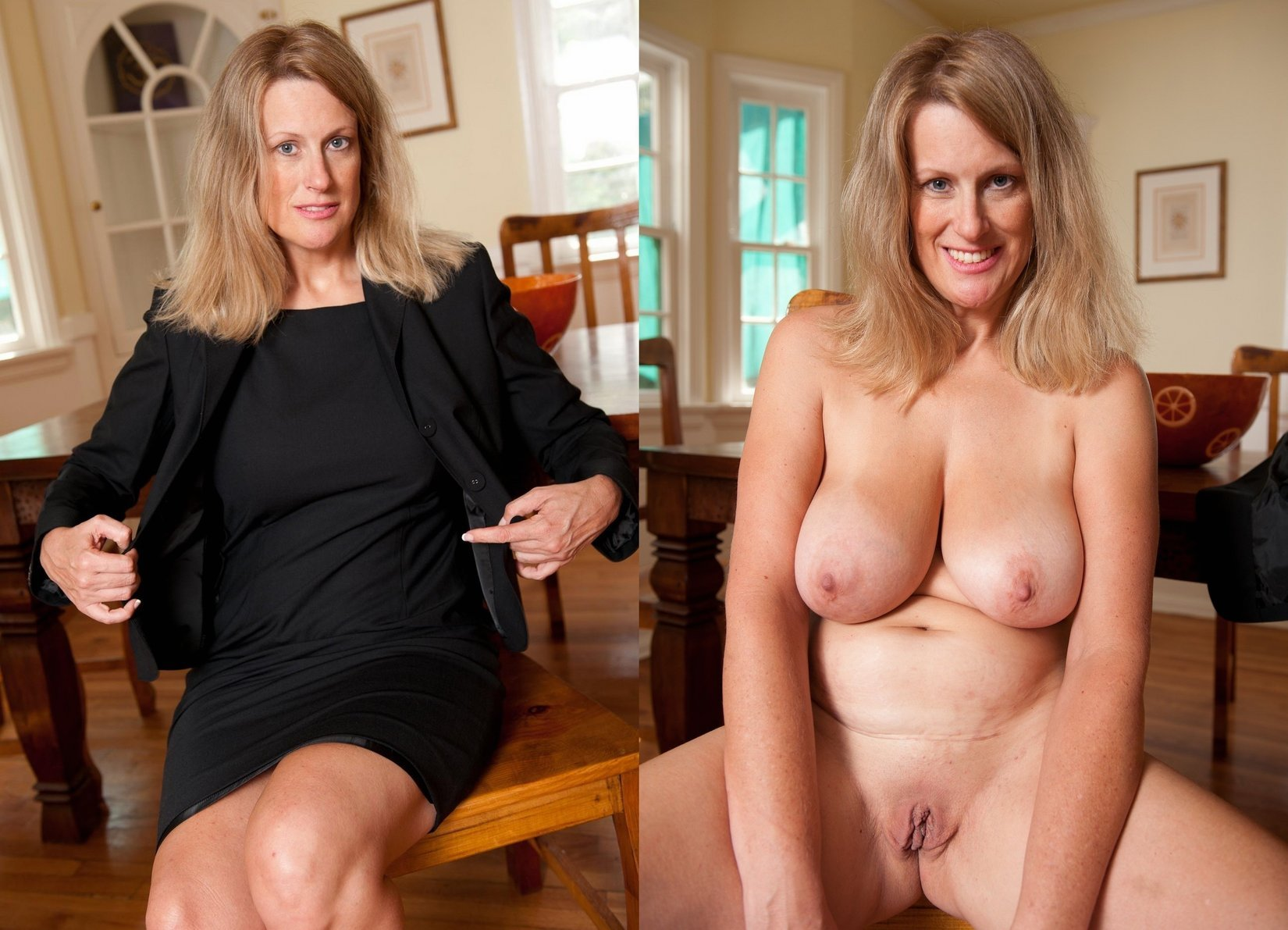 Absolutely incredible hot naked milf with big tits