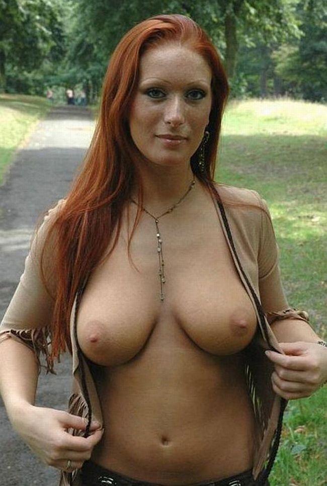 Big Tit Redhead Milf Anal