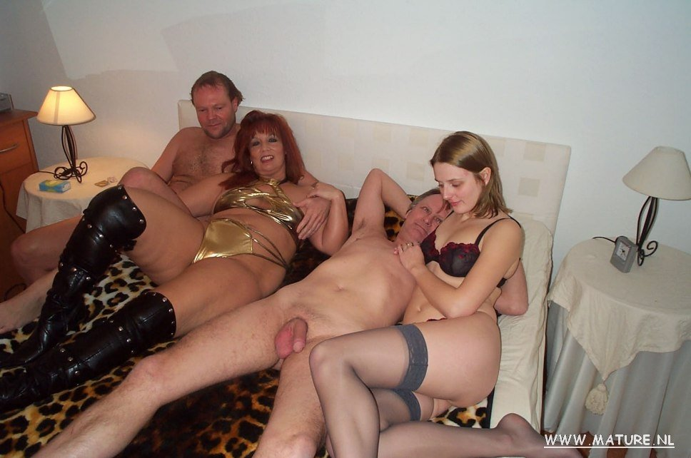 Mature swinger couple seeking male 7