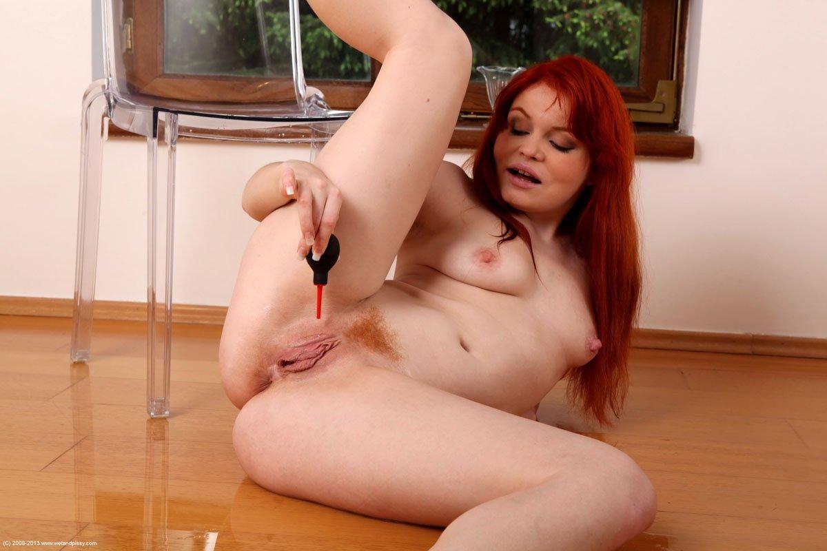 Порно видео рыжие мастурбация — 14