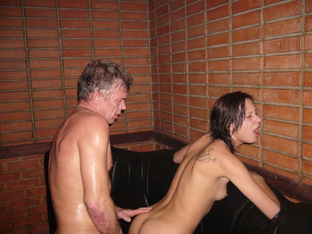 Порно с пьяными молодыми в сауне — 13