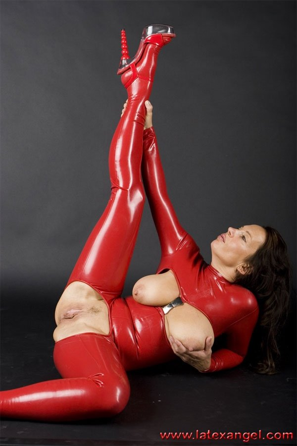 Latex women nude — 15