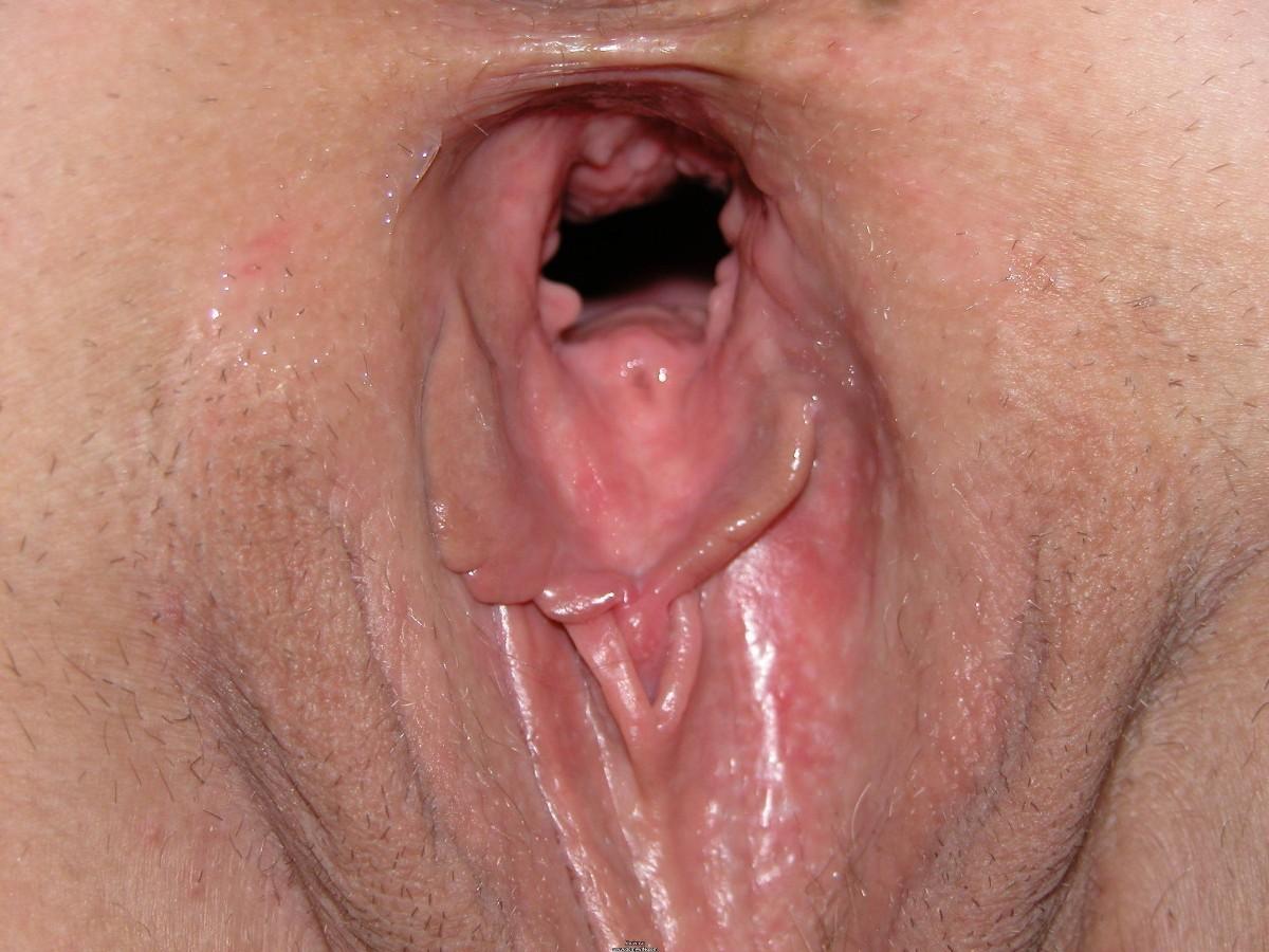 вагина без зарослей крупным планом фото того