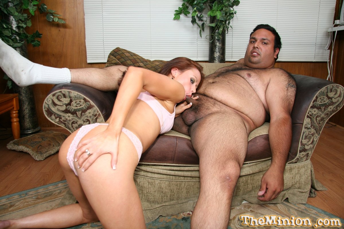 Худая любит толстого мужчину с маленьким пенисом
