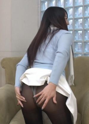 Секс с японской милфой
