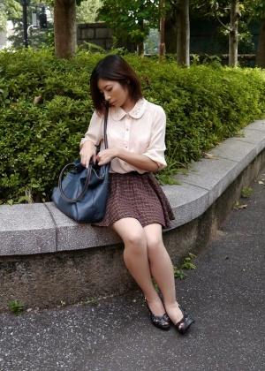 Секс с худой азиаткой Риа Нацуки