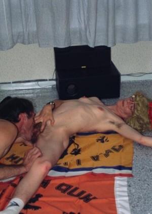 Секс пожилых пьяниц