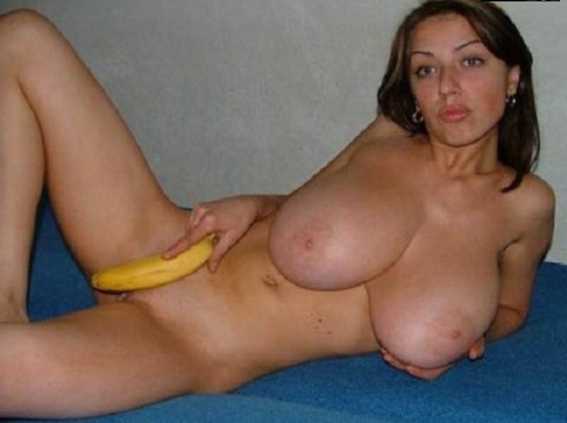 Украинка с очень классной грудью