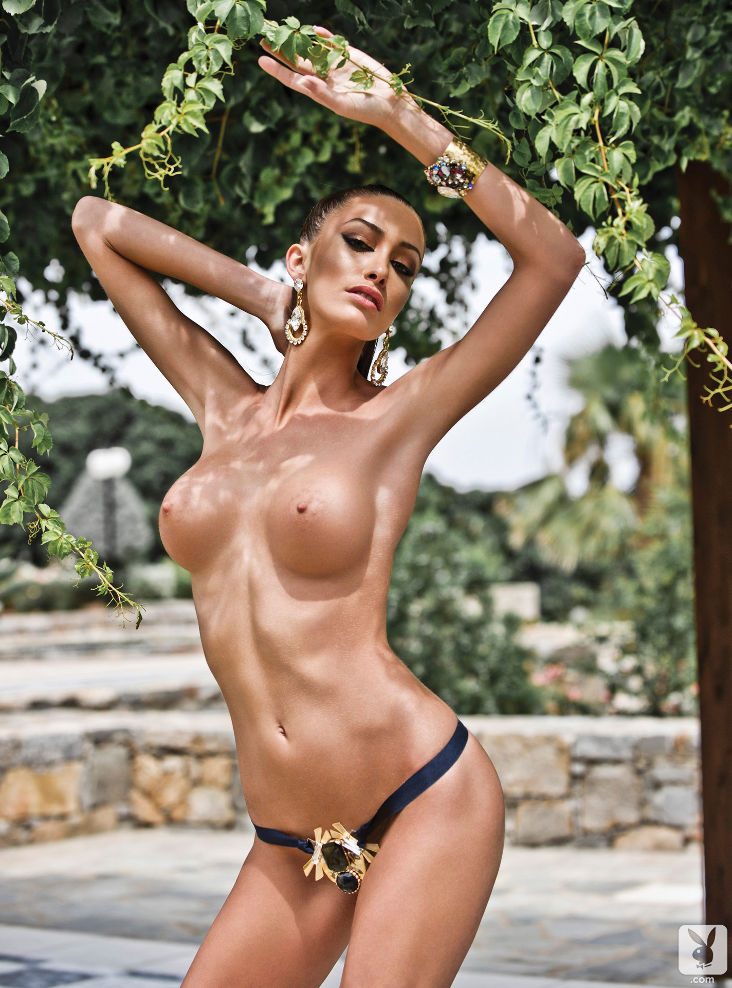 gorgeous-women-of-greece-nude-red-satin