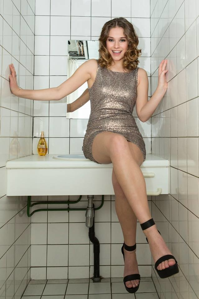 Красивая бельгийская модель