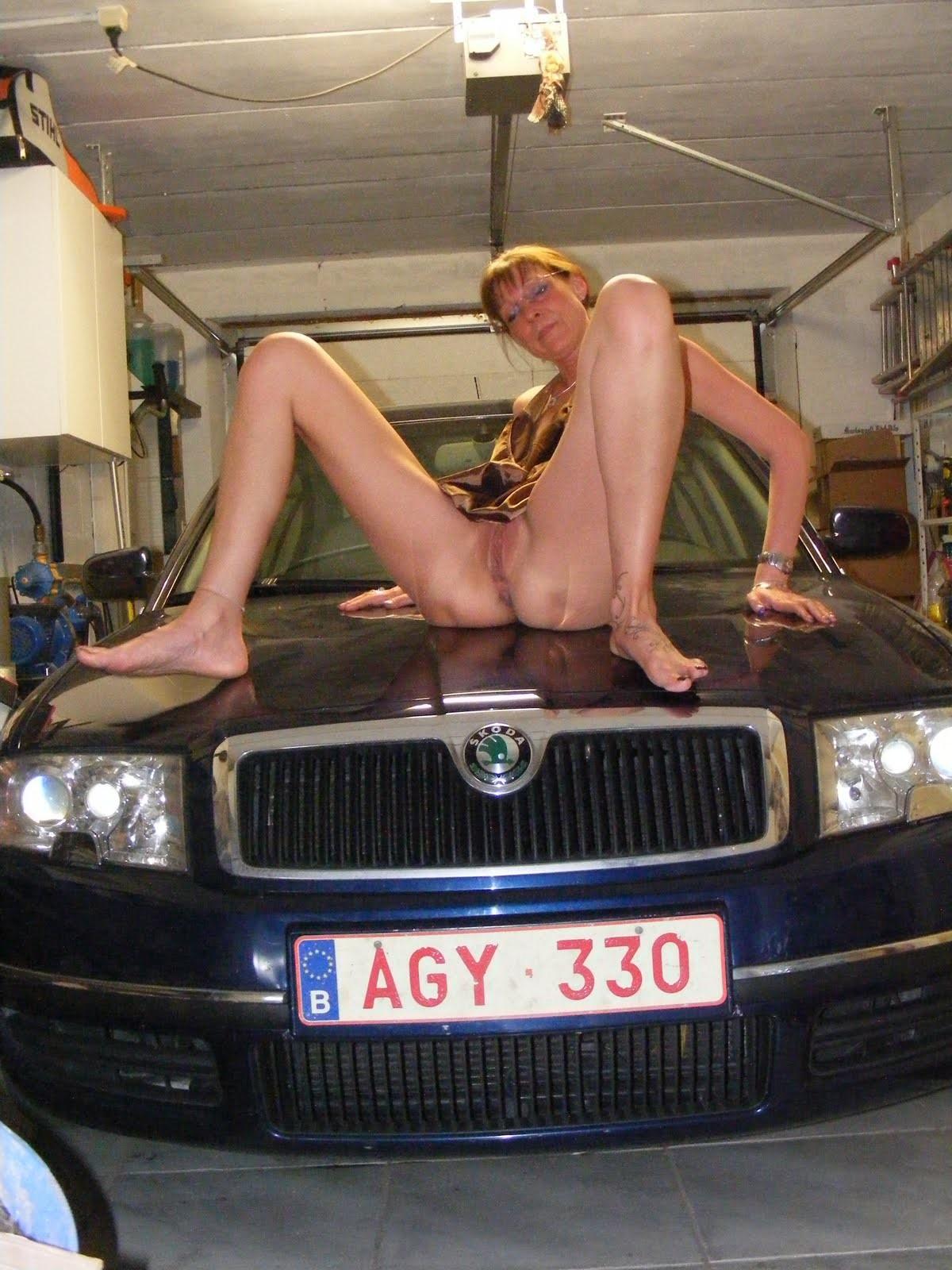 Развратная бельгийка в возрасте