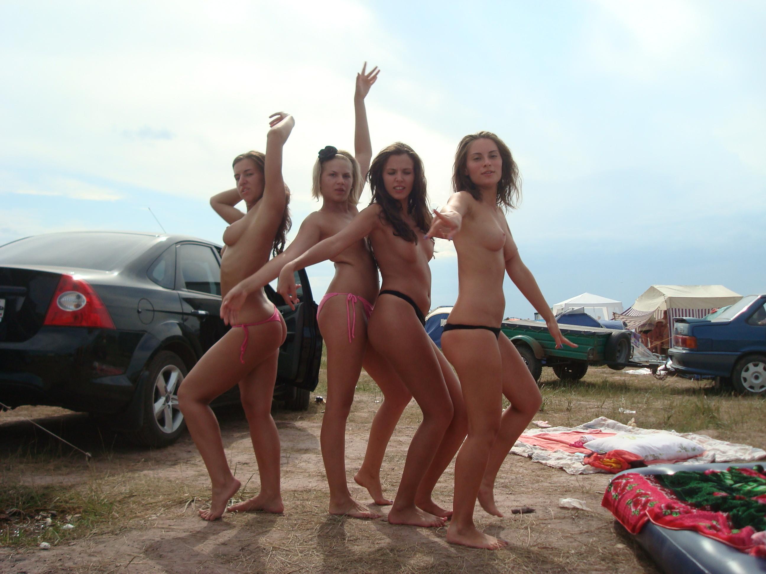 Милые подружки из Хорватии