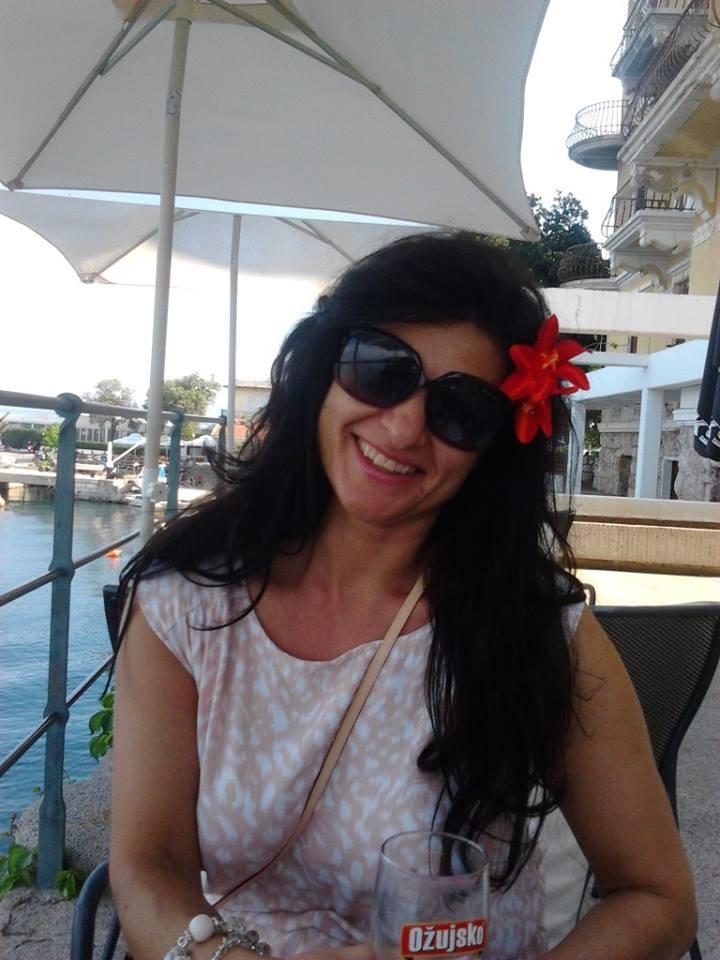 Знойная милфа Марьяна из Хорватии