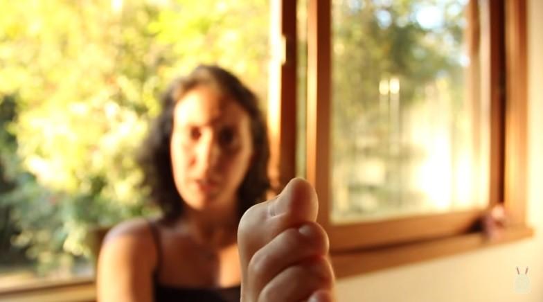 Пальцы ног бразильянки