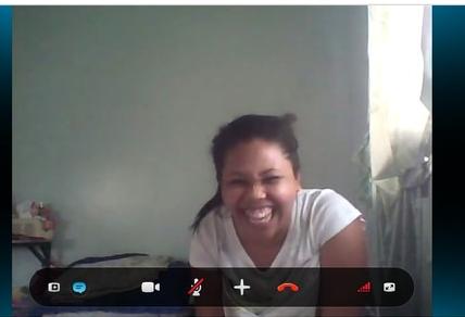 29-летняя филиппинка показывает сиськи в вебчате
