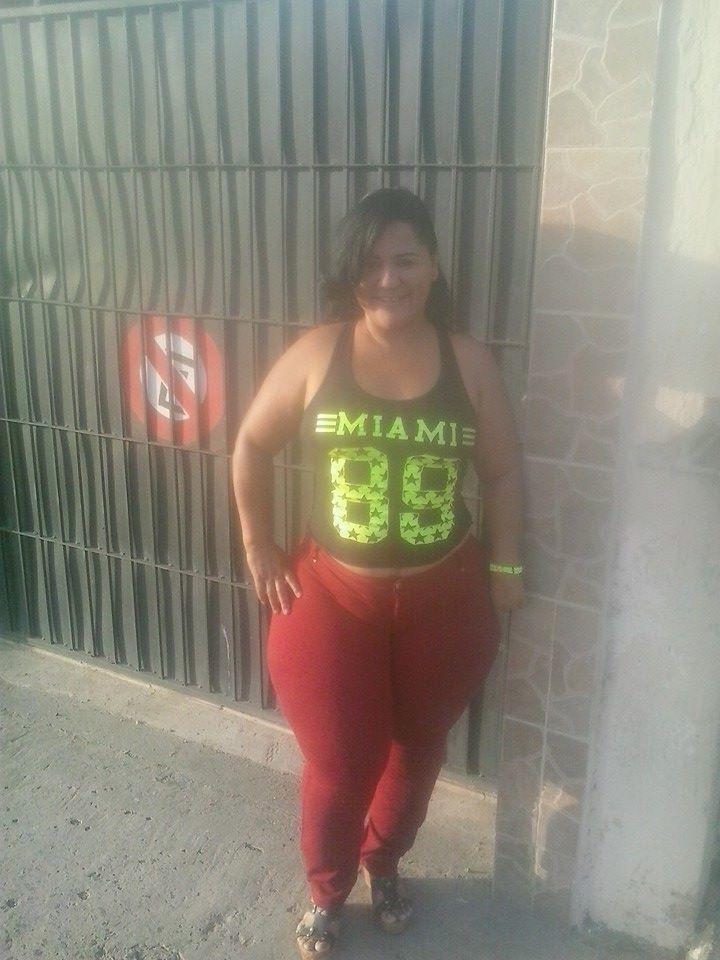 Жирная колумбийка Лейла