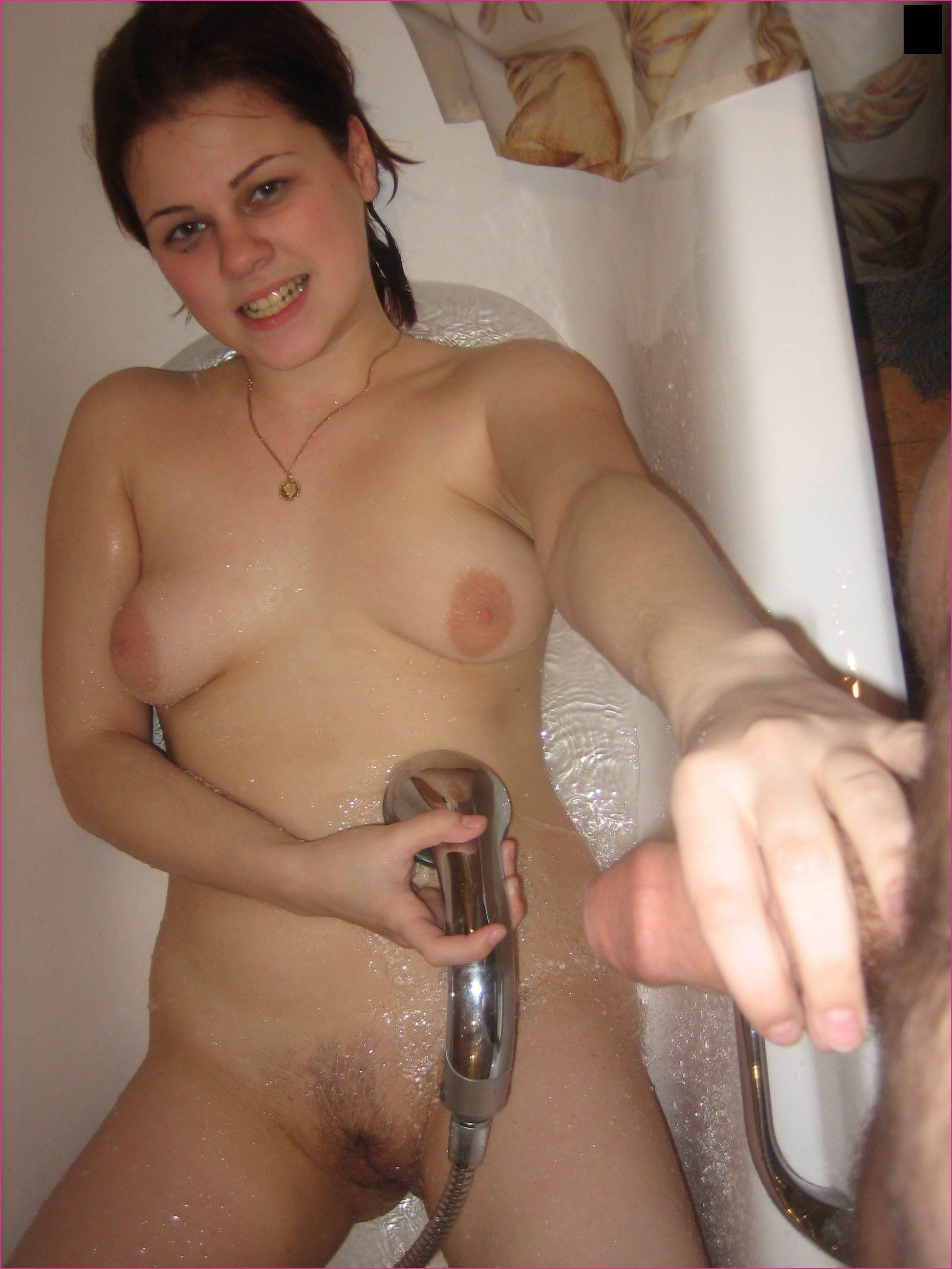 Жена с мужем в ванной частное интим фото