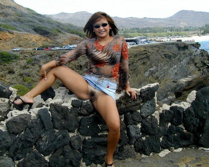 Гавайская зрелая блядь