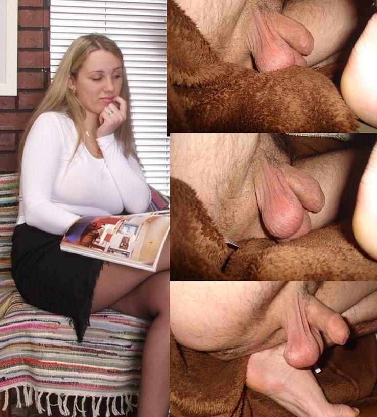 Реакция женщин на мужские гениталии - компиляция 8