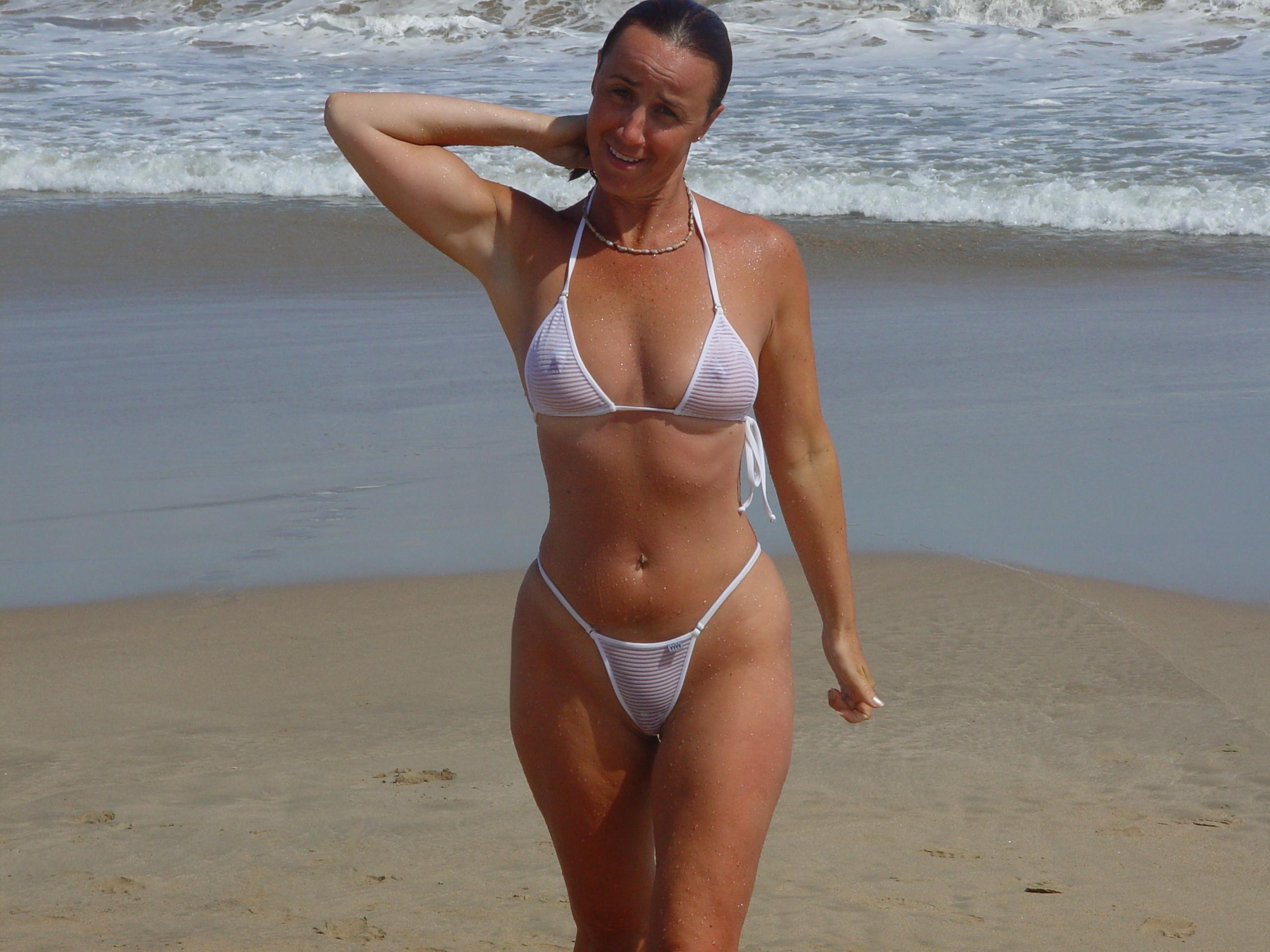 Bikini sexy wife, drunk sex act