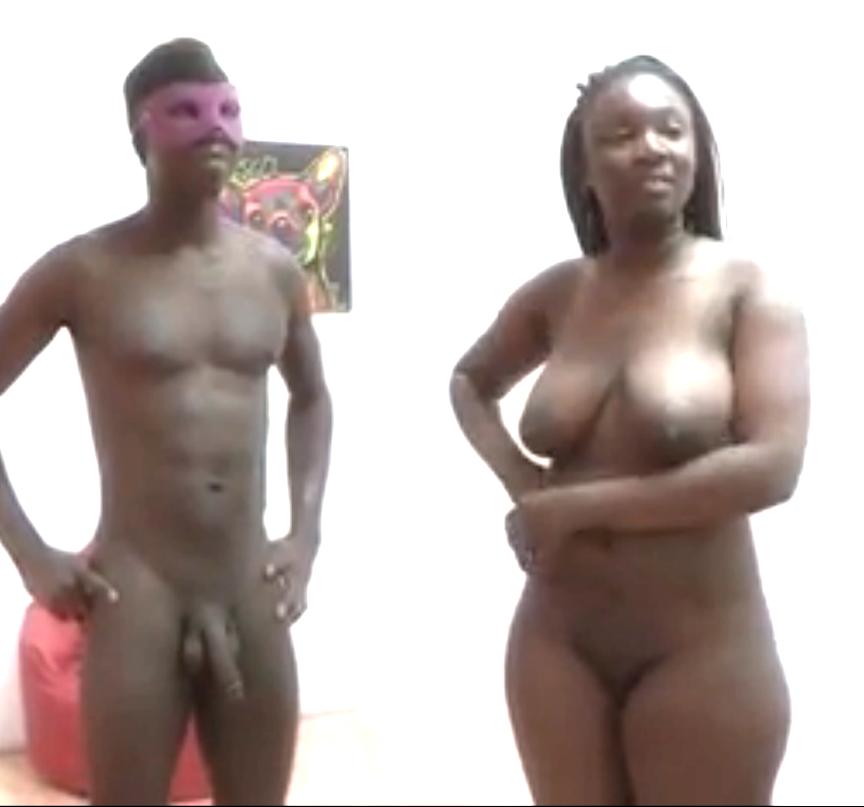 Нигерийка Шанель пришла на порно кастинг