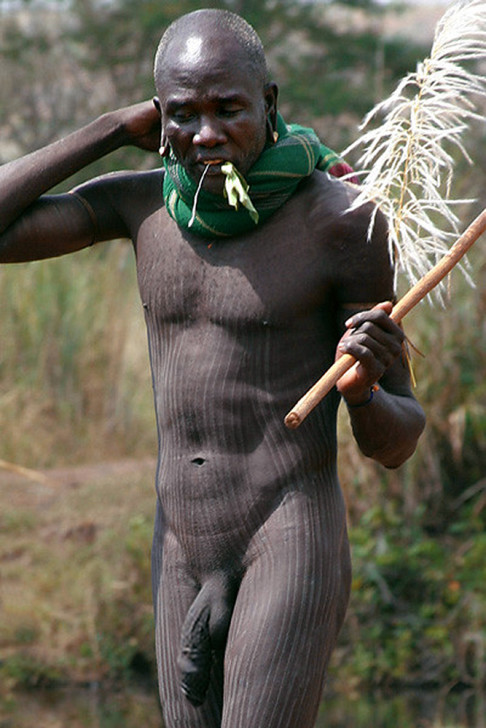 Африка парни голые племена