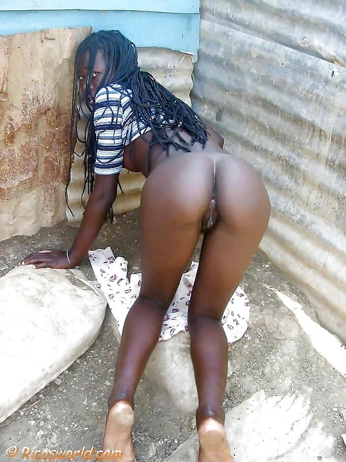Африканские Голые Жопы