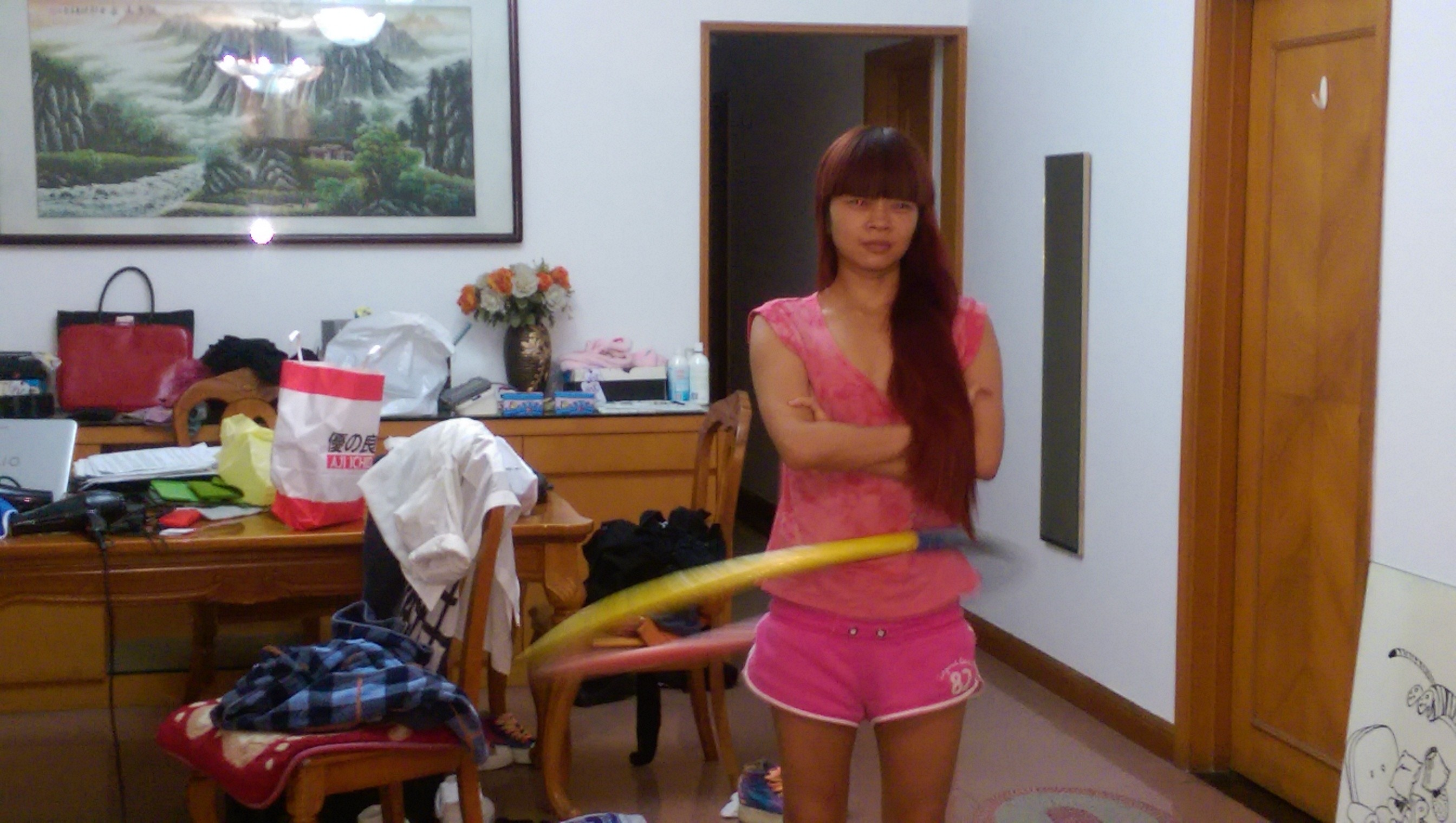 Плоская азиатка из Гонконга
