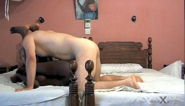 Секс с длинноногой высокой кенийкой