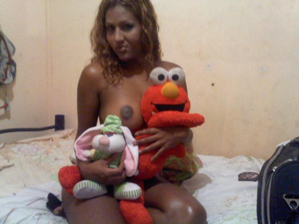 Сексуальная эквадорская телочка