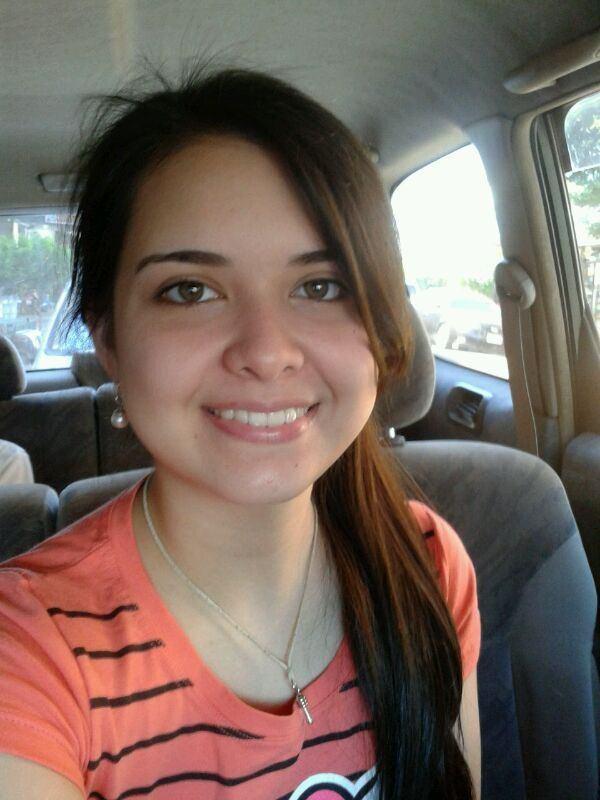 Милая девушка из Парагвая Сабрина