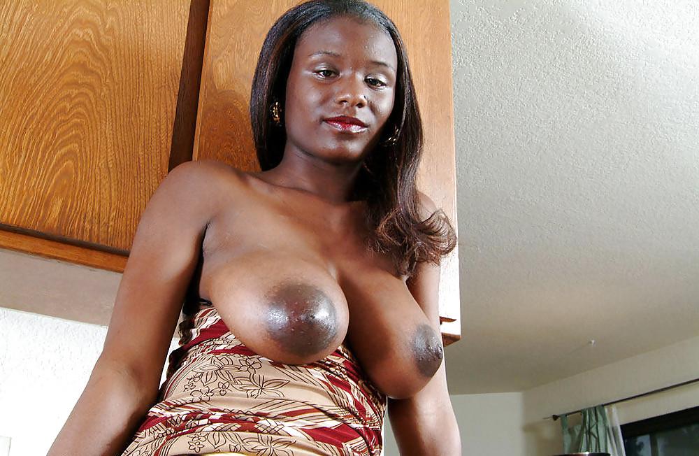 Huge nipples on black women — photo 5