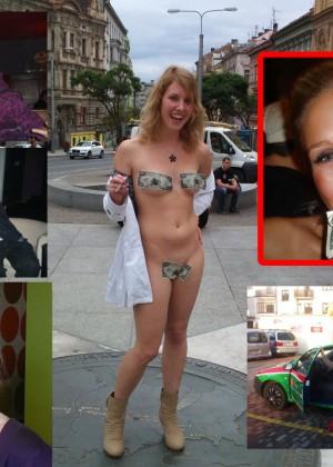 Блондинка из Чехии может ебаться за деньги
