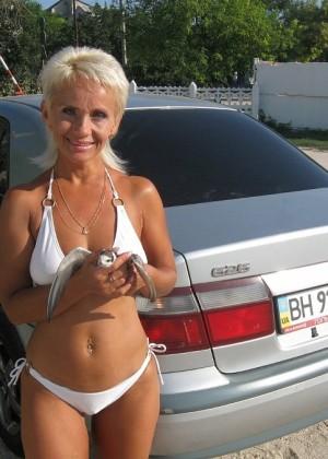 Сочная милфа из Беларуси