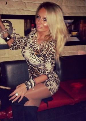 Зрелая сербская блондинка