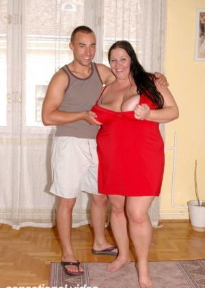 Секс с толстой венгеркой Трейси