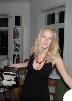 Секс с молодой, белокурой датчанкой