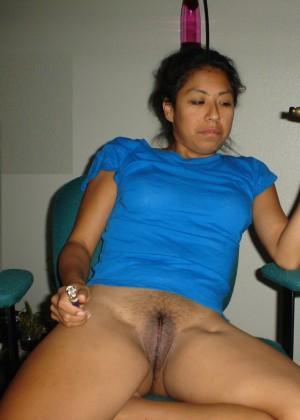 Женщина из Мексики без трусов