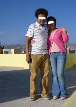 Секс на крыше с перуанской женщиной